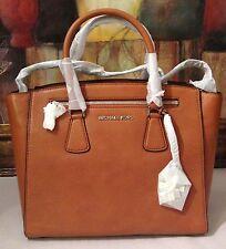 NWT Michael Kors Sophie Large Satchel Genuine Leather Cedar MSRP $398