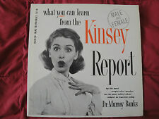 Dr. Murray Banks What You Can Learn From The Kinsey Report 1956 LP-1210 MONO EX