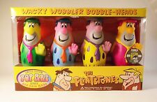 Set of 4 Fred Flintstone Pop Art Bobble Head Comic Con 2006 Limited Ed