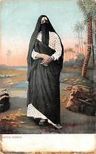 Egypt Native Woman, Folklore Clothing, Dress, Hijab