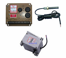 New ESD5500E speed controller +MSP6729 Magnetic Speed Sensor+ADC120 actuator