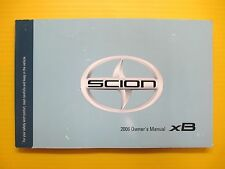 xB x B Wagon 06 2006 Scion Owners Owner's Manual All Models OEM