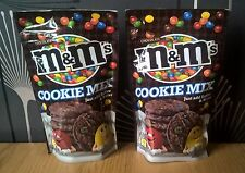 2x M&M's Chocolate COOKIE MIX Flour (2x 180g) Makes 8 COOKIES!!