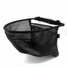 Fly Fishing Line Tray String Bag Black Nylon Mesh Stripping Basket Waist Net
