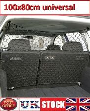 Pet Guard Net Car Safety Dog Barrier Mesh Protect Universal storage net 100x80cm