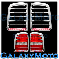 04-08 Ford F150 Chrome STYLESIDE Taillight+Brake+Turn Signal Function LED Cover