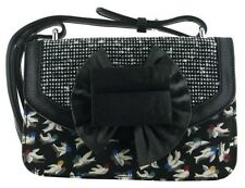Irregular Choice Hook Line & Sinker Black Multi New Womens Hand Clutch Bag