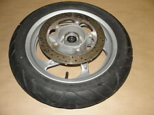 09 YAMAHA YP 400 MAJESTY FRONT WHEEL RIM TIRE BRAKE ROTOR DISC YP400
