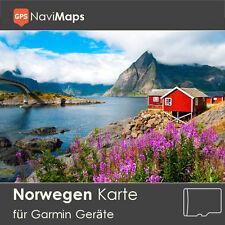 Topo Karte Norwegen Garmin Edge GPSMap Etrex Nüvi Astro Oregon Dakota Montana