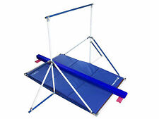 Horizontal Bar - Gymnastics Mat - low Blue Balance Beam combo