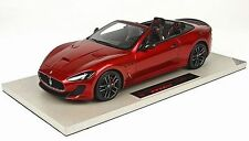 TOP MARQUES COLLECTIBLES 2014 Maserati Grancabrio MC Red 1:18*Last One!