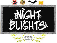Night Blights PC Digital STEAM KEY - Region Free