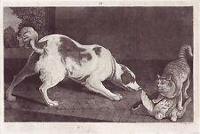 John Kay Original Antigua Grabado. juego muerto, 1802