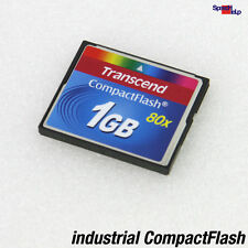 1gb CF transcend Compact Flash Industrial 80x haut débit ssd for pc Cameras Canon