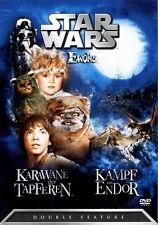 Star Wars - Die Ewoks - Double Feature DVD - OOP - RAR - Original in Folie!!!