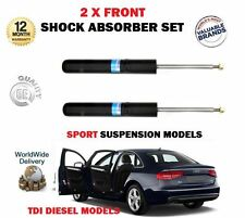 FOR AUDI A4 2.0 2.7 3.0 TDI 2007-  2 X FRONT LEFT + RIGHT SHOCK ABSORBER SET
