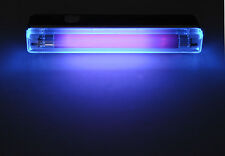 MINI UV ULTRA VIOLET 6W BLACKLIGHT TUBE & FITTING BLACK LIGHT DJ DISCO HALLOWEEN