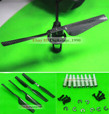 Parrot Ar Drone 2.0 Quadcopter Carbon Fibre Propeller CW&CCW DIY UPGRADED PARTS