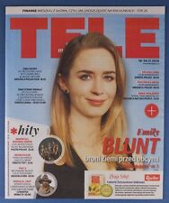 EMILY BLUNT  mag.FRONT cover Poland  TELE MAGAZYN