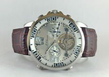 NEW M.JOHANSSON MENS AUTOMATIC LEATHER BAND WRIST WATCH CuresLSW