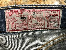 Vintage Women's Levi's 501 Button fly USA  W29 L30 26501 0116