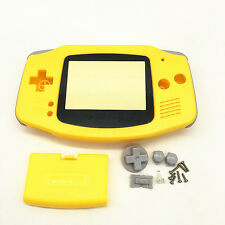 Replacement Yellow Housing Shell Case Faceplate for Nintendo Gameboy Advance GBA