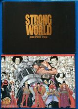One Piece Movie Pamphlet Strong World & Film Z / 2 Posters & Trading Cards
