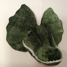 Universal Studio Jurassic Park Dinosaur Head Wall Mount Stuffed Plush Dragon Toy