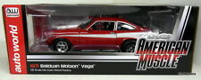 ERTL 1/18 - AMM1022 1971 BALDWIN MOTION CHEVY VEGA RED DIECAST MODEL CAR