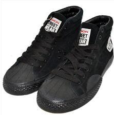 Vision Street Wear Mens Suede Hi Top Retro BLACK Skate Shoe  Size US 11 UK 10