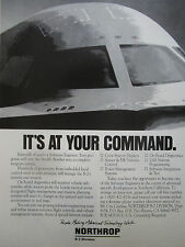 6/1991 PUB NORTHROP STEALTH B-2 BOMBER CAREER BOMBARDIER FURTIF ORIGINAL AD