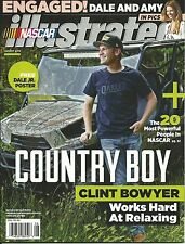AUGUST 2015 NASCAR ILLUSTRATED RACING MAGAZINE CLINT BOWYER COVER