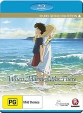WHEN MARNIE WAS THERE (Animation) -   Blu Ray - Sealed Region B