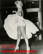 "Marilyn Monroe~Skirt~Seven Year Itch~#2~Poster~Photo~ 16"" x  20"""