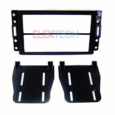 Double DIN Radio Stereo Replacement Dash Mounting Kit for 2005-2014 GM Vehicles