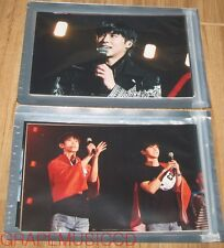 TVXQ! SMTOWN COEX Artium SUM OFFICIAL GOODS TISTORY TYPE A + B 8 PHOTO SET NEW
