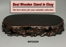 Hard Wood Stand For Netsuke & Carving Display (WS0009)