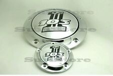 103 Timer And Derby Cover harley softail breakout fat boy touring dyna Silver