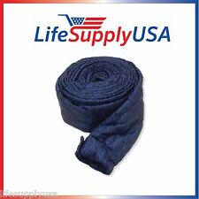 30FT NEW CENTRALUX CENTRAL VACUUM HOSE COVER VACSOCK ZIPPER 30 FT FEET FOOT
