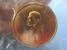 THOMAS JEFFERSON PRESIDENT OF THE UNITED STATES 1801 COPPER COIN METAL