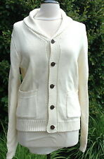 W's Lucky BrandMixed Stitch Shawl Sweater Cream Sz XXL $129.00 NWT