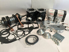 Banshee 64mm 4 mil Ported Stroker Cylinders Complete Top Bottom End Rebuild Kit