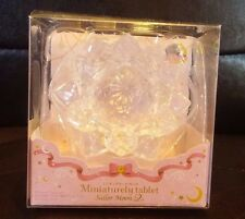 Sailor Moon Miniaturely Tablet 2 Silver Crystal/Ginzuishou Keychain Charm