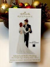 Edward and Bella's Wedding - 2012 Hallmark Ornament Twilight Saga Breaking Dawn