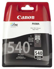 Genuine Original Canon PG-540 Black Ink Cartridge PG540 Pixma MG2150 MG3250 3150