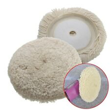6'' Wool Buffing Pad Detailing Polishing Polisher Pad For Car Detailing Polisher