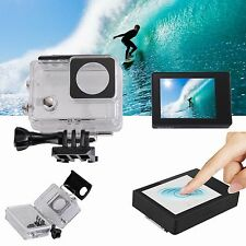 "2"" LCD Touch Screen + Touchable Waterproof Shell Case For Gopro Hero 3+ 4 Camera"