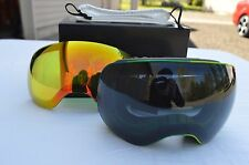 2016 NIB DRAGON APX2 SNOWBOARD GOGGLES $220 gigi sig. dark smoke yellow red ion