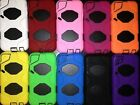 HEAVY DUTY PROTECTIVE COVER/CASE FOR iPOD TOUCH 4 generation W/BLACK BACK.