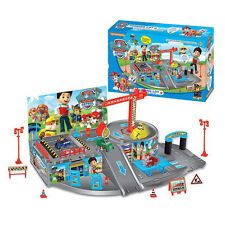 Paw Patrol Car Park Marshall Chase Rocky Dog Figures Pups Toys For Kids